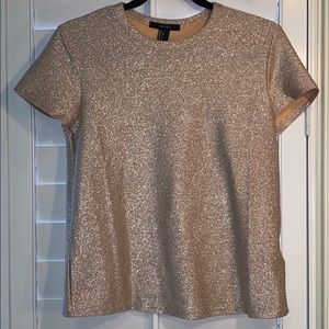 F21 Sparkly Party Tee